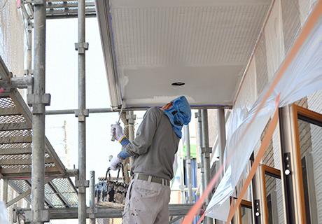 オーナー向け塗装施工風景画像2