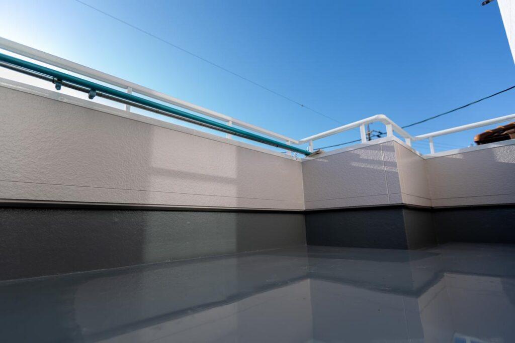 さまざまな形状に対応できる防水工事